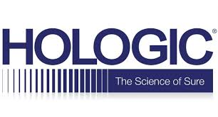 The logo for Hologic