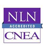 The logo for NLN CNEA Accreditation